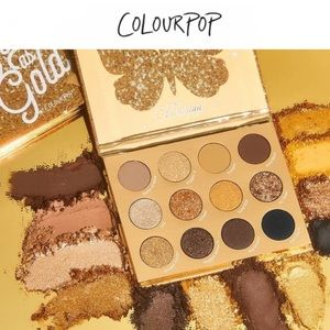 COLOURPOP | NWT Good as Gold Palette